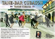Cubason Salsa Party - Workshop - kubanisches Buffet - Tanzshow