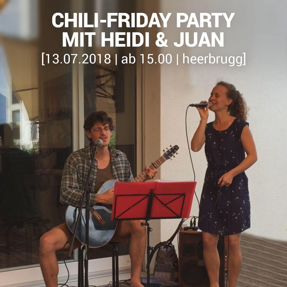 rhyCHI | CHILI-FRIDAY PARTY MIT HEIDI & JUAN