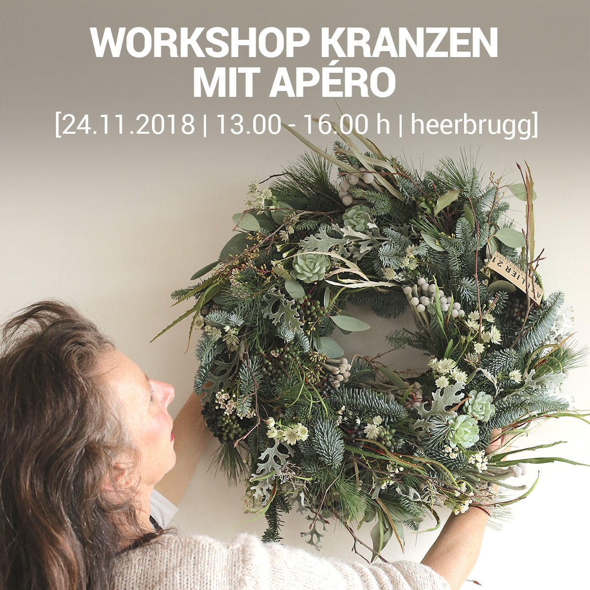 rhyCHI | Workshop Kranzen mit Apéro