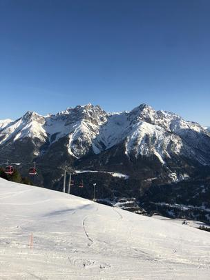 Spaziergang in Scuol