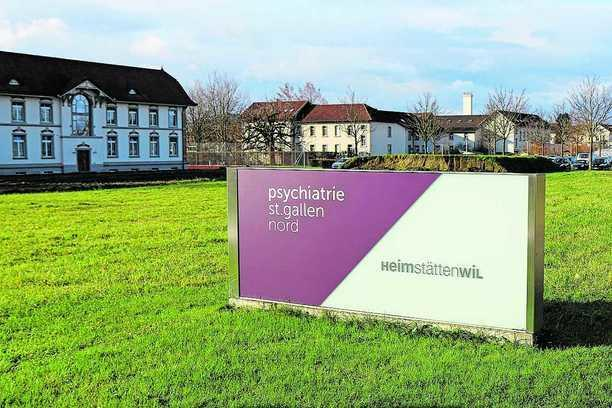 Areal der Psychiatrie St. Gallen Nord (PSGN) in Wil.