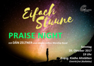 PRAISE NIGHT mit DÄN ZELTNER