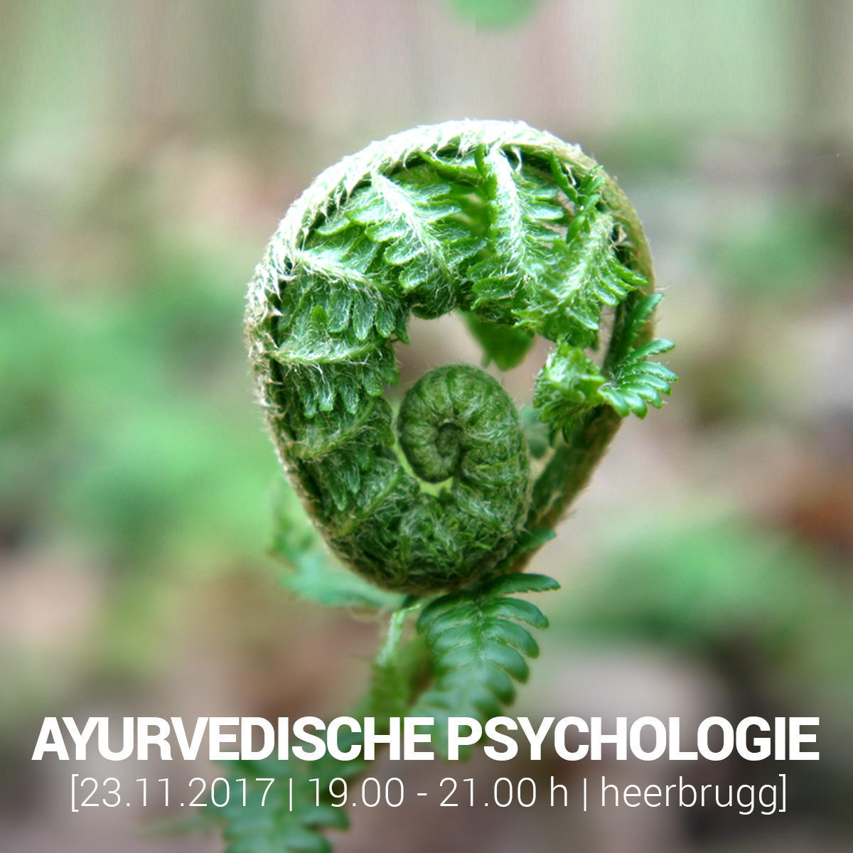 AYURVEDISCHE PSYCHOLOGIE - WORKSHOP