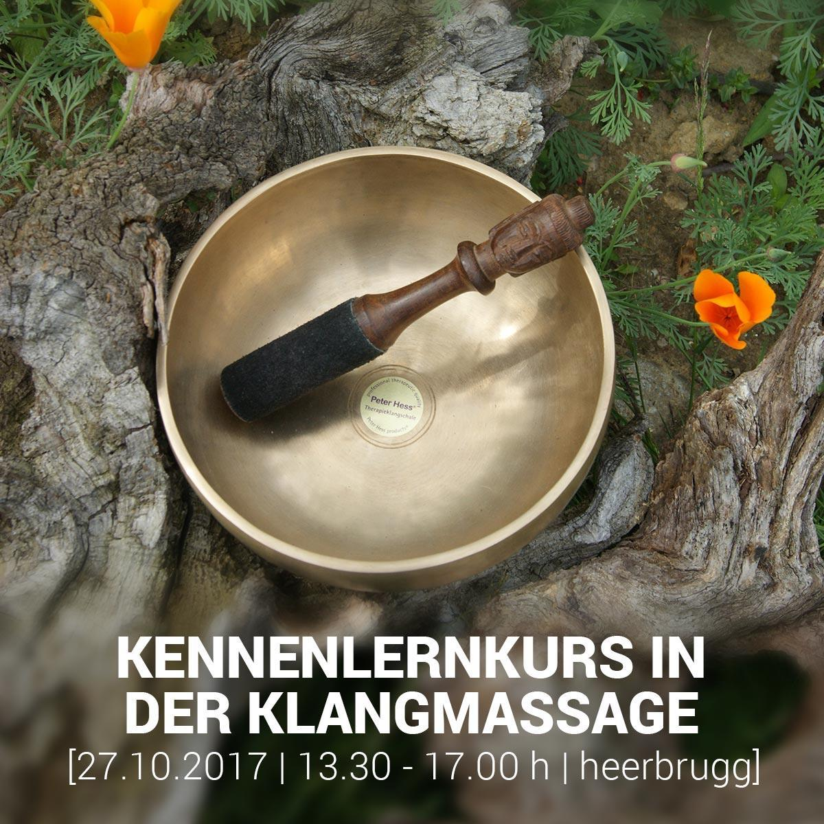 KENNENLERNKURS IN DER KLANGMASSAGE