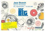 Jazz-Brunch mit der SSC Big Band Rheintal