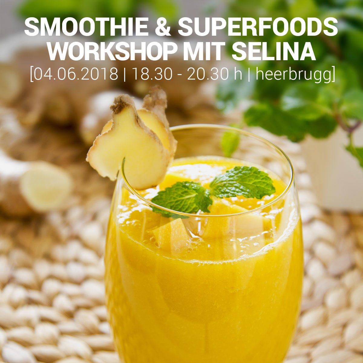 rhyCHI | SMOOTHIE & SUPERFOODS WORKSHOP