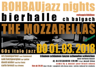 ROHBAU JAZZ NIGHTS /// THE MOZZARELLAS